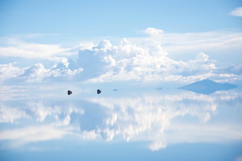 ウユニ塩湖1日ツアー|鏡張りの絶景