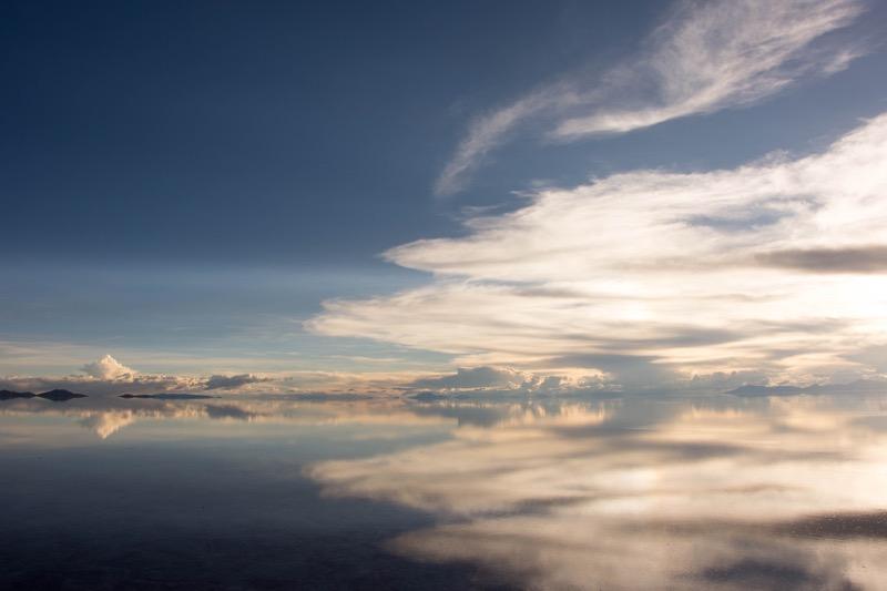ウユニ塩湖|サンライズ