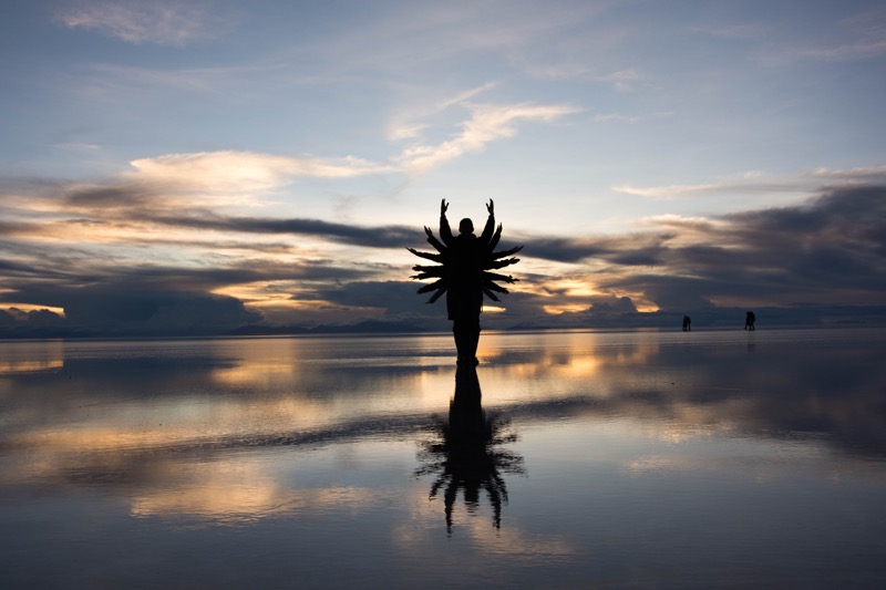 ウユニ塩湖1日ツアー|サンセット