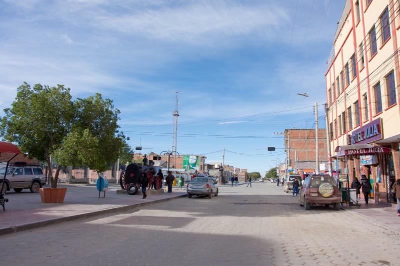 ウユニの町