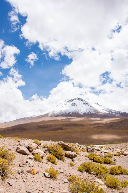 ウユニ→アタカマ抜け2泊3日ツアー2日目|オジャグエ火山