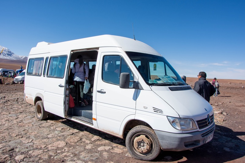 ウユニ→アタカマ抜け2泊3日ツアー3日目|ボリビア・チリ国境