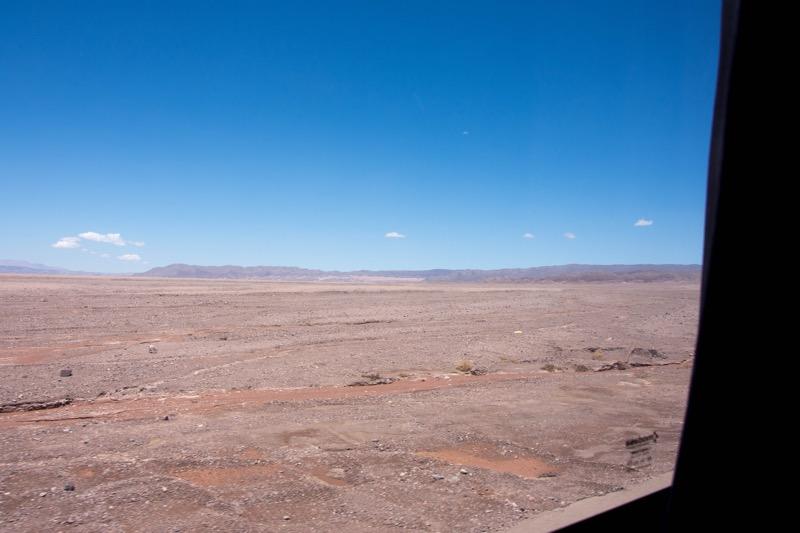 チリのバス移動|アタカマ→サンティアゴ