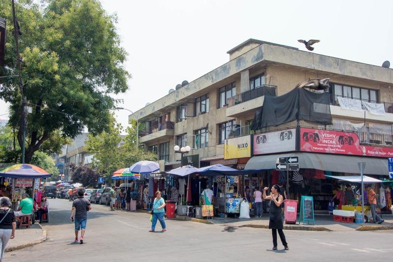 サンティアゴ|アジア人街