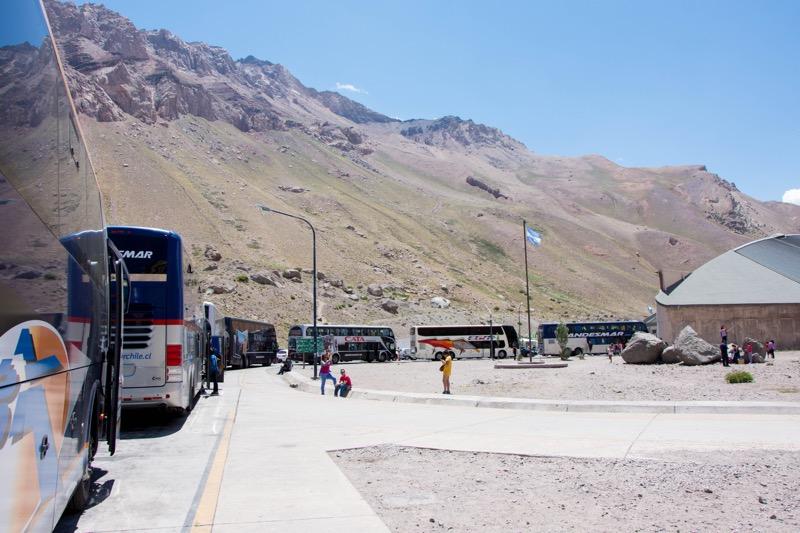 チリ/アルゼンチン国境