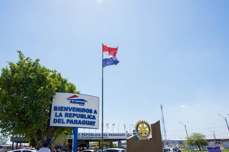 アルゼンチン/パラグアイ国境