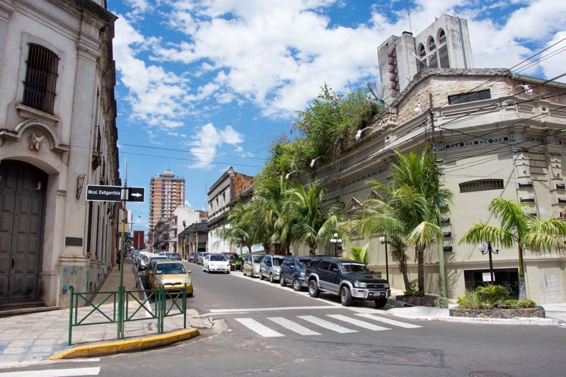 アスンシオン|街並み