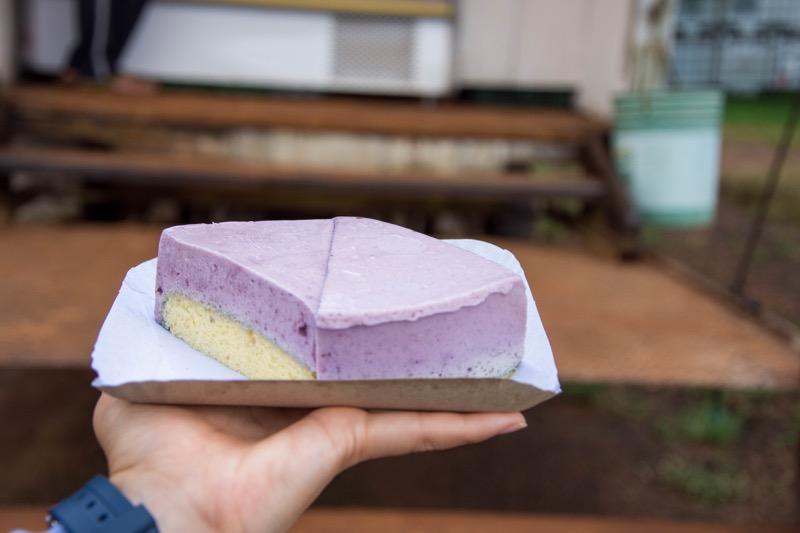 イグアス移住区|ブルーベリーケーキ