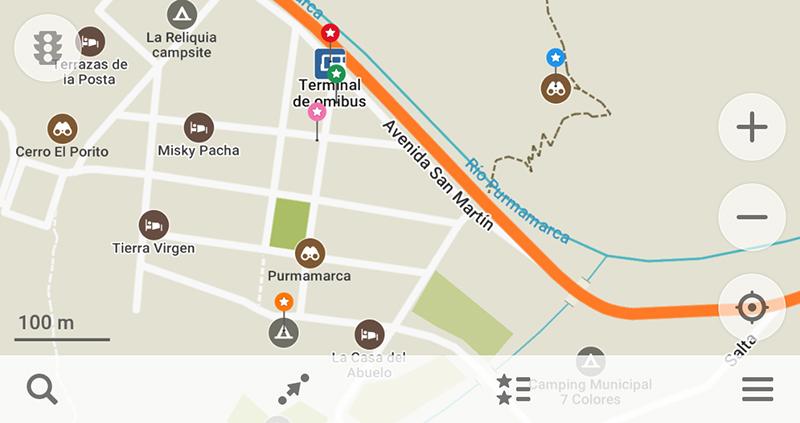 プルママルカ周辺マップ
