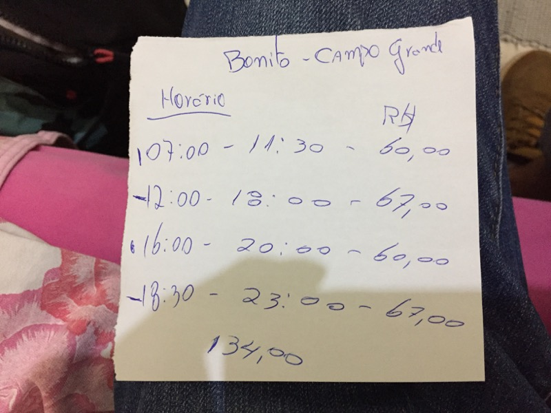 ボニート→カンポ・グランジ