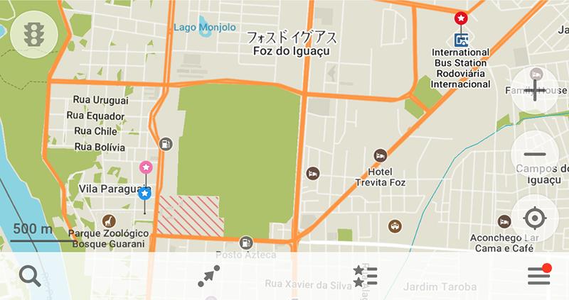 フォス・ド・イグアスの市内移動