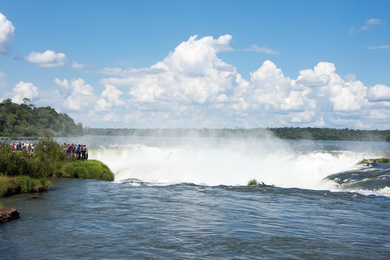イグアスの滝「悪魔の喉笛」