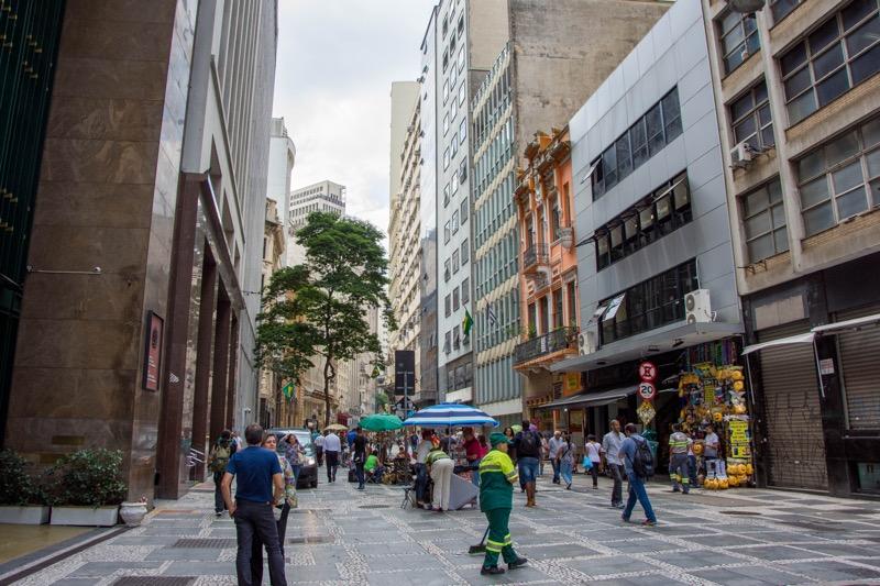 サンパウロ旧市街