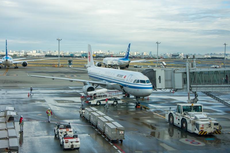 中国国際航空ビジネスクラス|羽田→北京