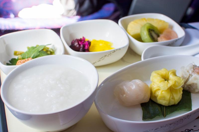 中国国際航空ビジネスクラス|羽田→北京の機内食