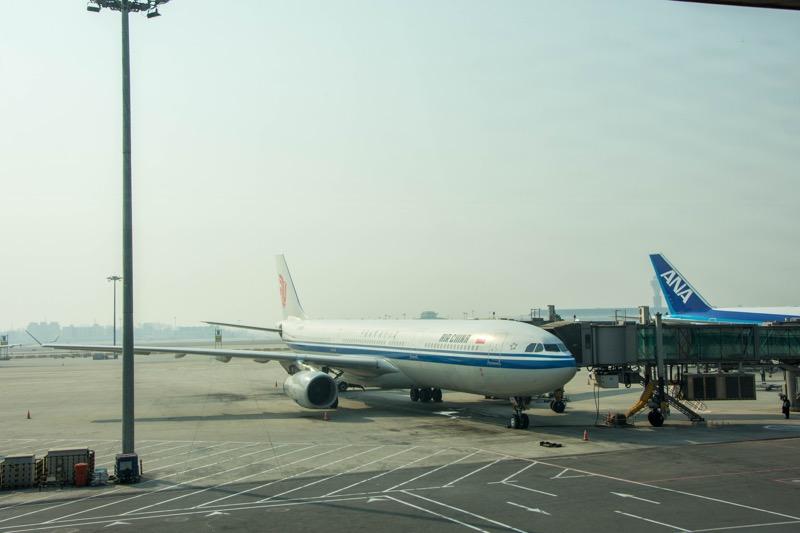 中国国際航空ビジネスクラス|北京→クアラルンプール