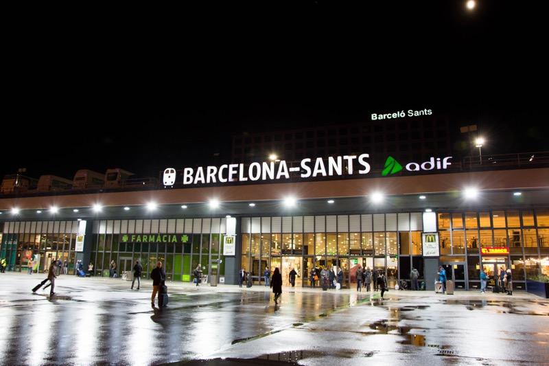 バルセロナ|サンツ駅
