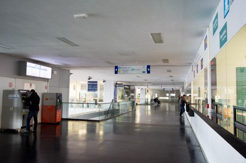 タンジェのフェリーターミナル