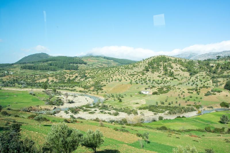モロッコのルート|タンジェ→シャウエン